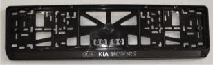 Антивандальная рамка на государственный номер - KIA ramka nomera