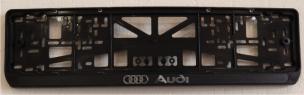 Антивандальная рамка на государственный номер - AUDI ramka nomera