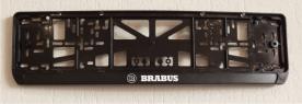 Антивандальная рамка на государственный номер - Brabus
