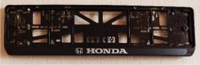 Антивандальная рамка на государственный номер - Honda рамка на номер
