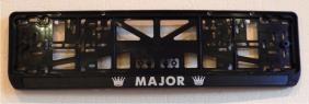 Антивандальная рамка на государственный номер - MAJOR  авторамка